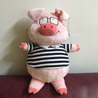 Cool Piggy Teddy Bear