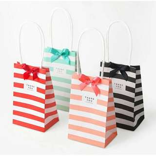 Berkat Small mini Gift Bag with Handles Wedding Decoration Birthday Decoration Event Party Supplies  Paper Gift Bag for Jewelry