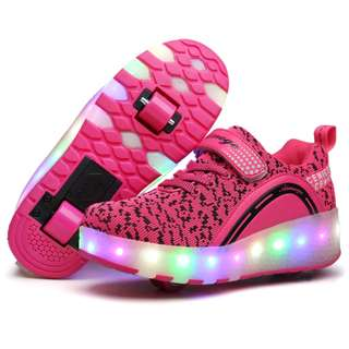 [NEW ITEMS ] [ PO] !!! PROMOTION MONTH  2018 !! FOR THIS AWESOME PRETTY COOL LED ROLLER SHOES TWO WHEELS !! COME WITH KIDS AND ADULT SIZE !!  CAN BRING IT EVERYWHERE  !! BE THE FIRST TO GET NOW !!!!!