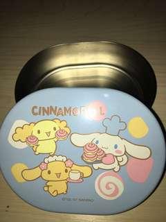 日本正版 Cinnamoroll 鋁盒一個