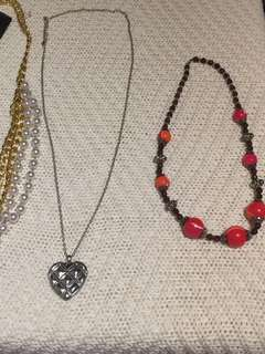 New Holiday Necklaces