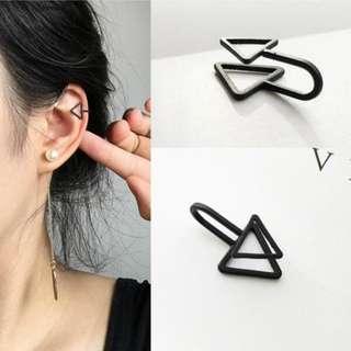 [PO] Korean simple ear clip earrings