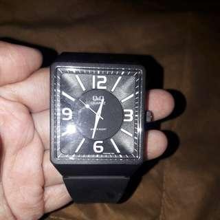 Q&Q Black Watch