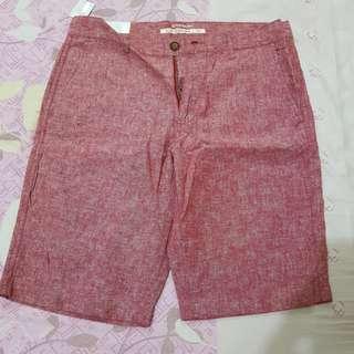 Celana bermuda merk Giordano original di jamain.