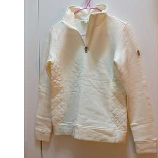 🆕🈹 Aigle white softshell pullover