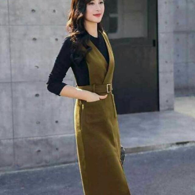 2 in 1 dress/