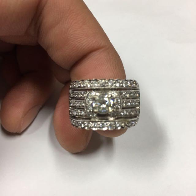46分鑽石豪華中性戒指