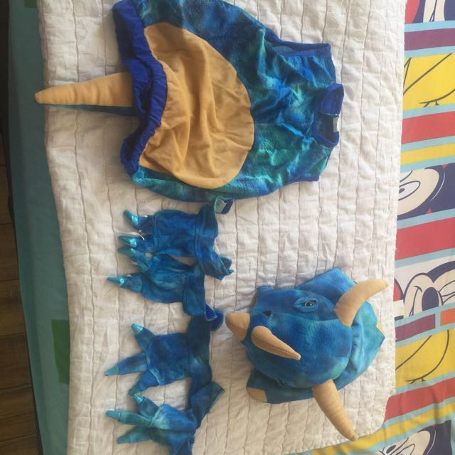 6-piece Rhino Costume for kids
