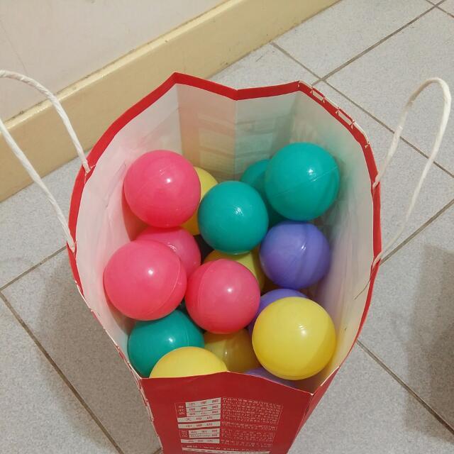 海洋球30顆