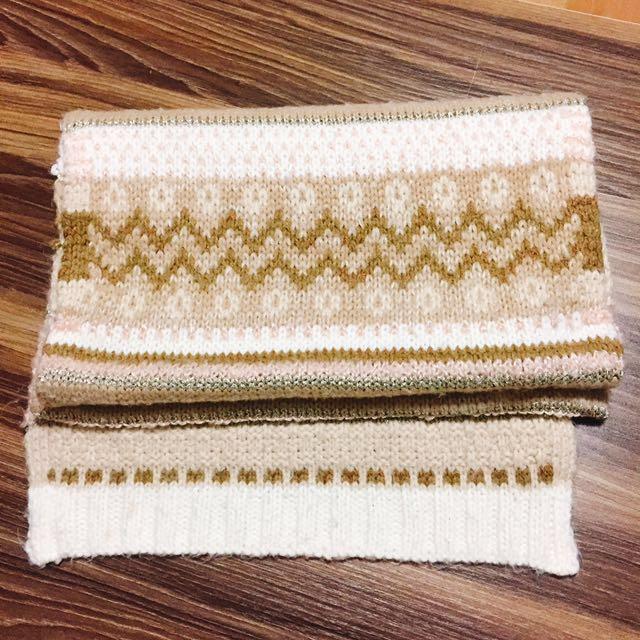 韓國 民族風 針織 圍巾 #新春八折