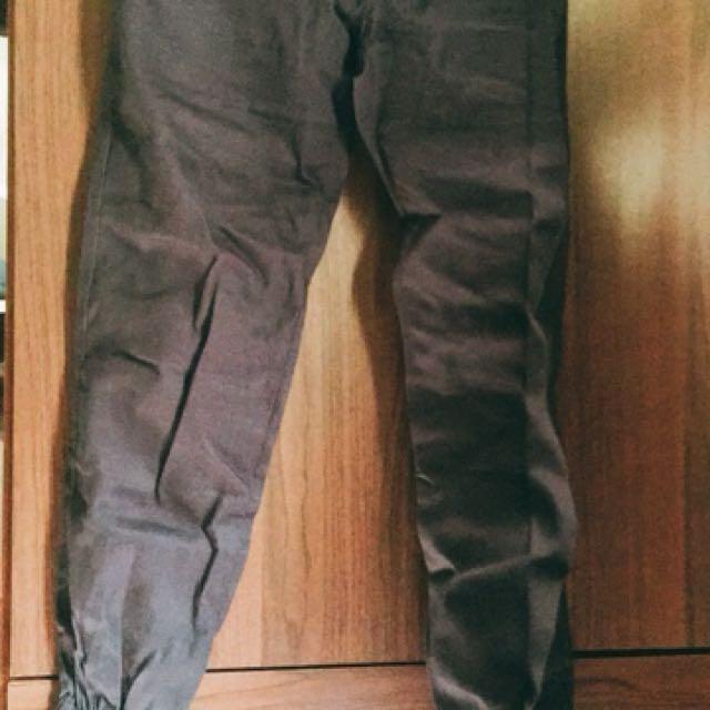 黑 & 丈青 兩件束口褲  全新
