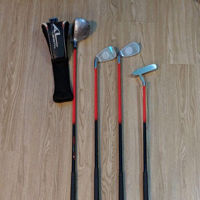26d911c4405c AccuLength Series 2000 Expandable Junior Golf Set