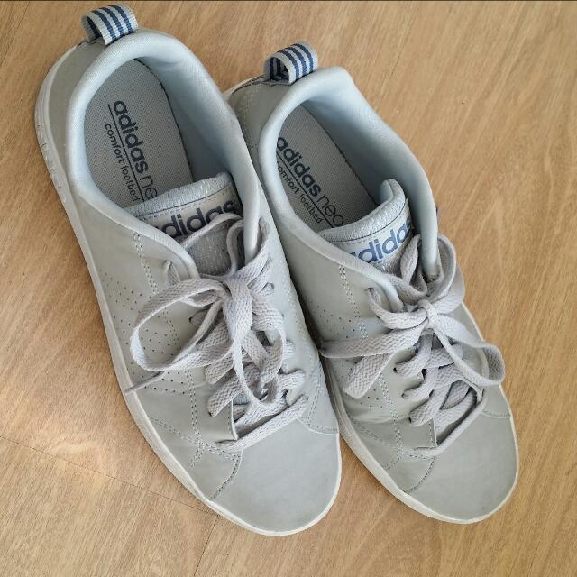 adidas neo comfort footbed grey