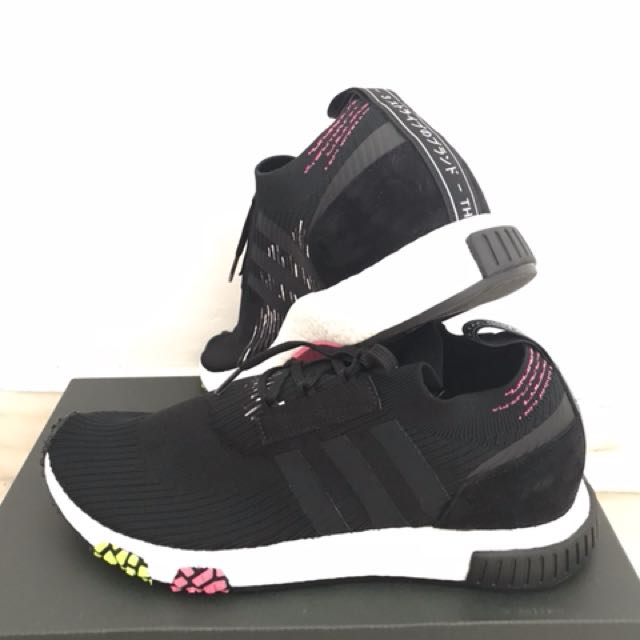 42497dfbed0aa 🔥Adidas NMD Racer PK Core Black Solar Pink
