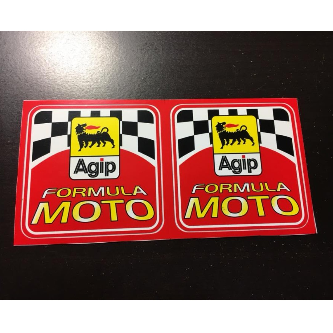 Agip 機車 摩托車 貼紙