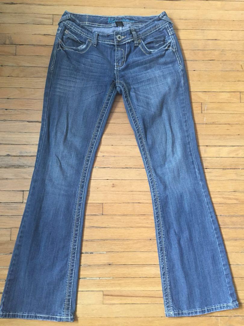 Ariya Slim Boot cut Jeans Sz 7/8