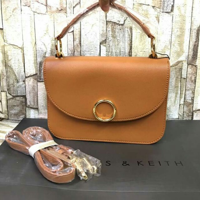 Authentic Charles and Keith Hand and Sling Bag