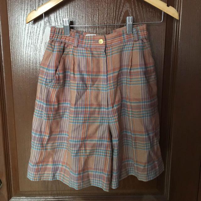 Balenciaga High Waist Knee Shorts