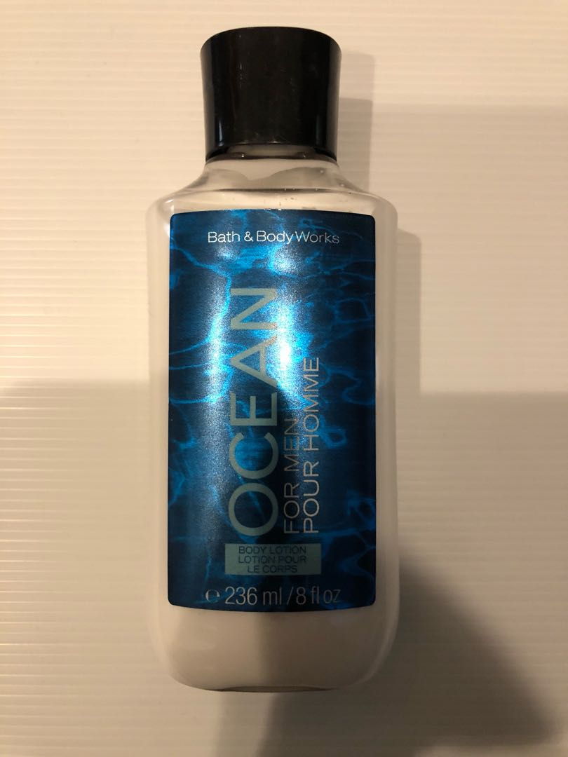 Bath & Body Works Signature Collection Lotion Ocean for Men