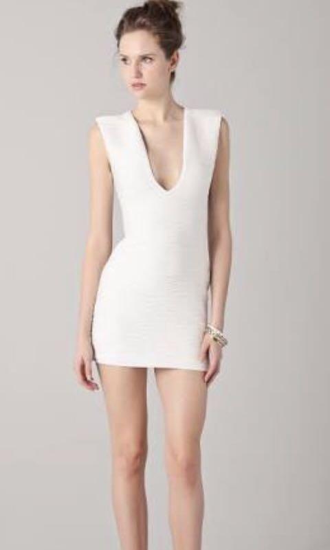 Bec & Bridge White reversible dress sz 6!