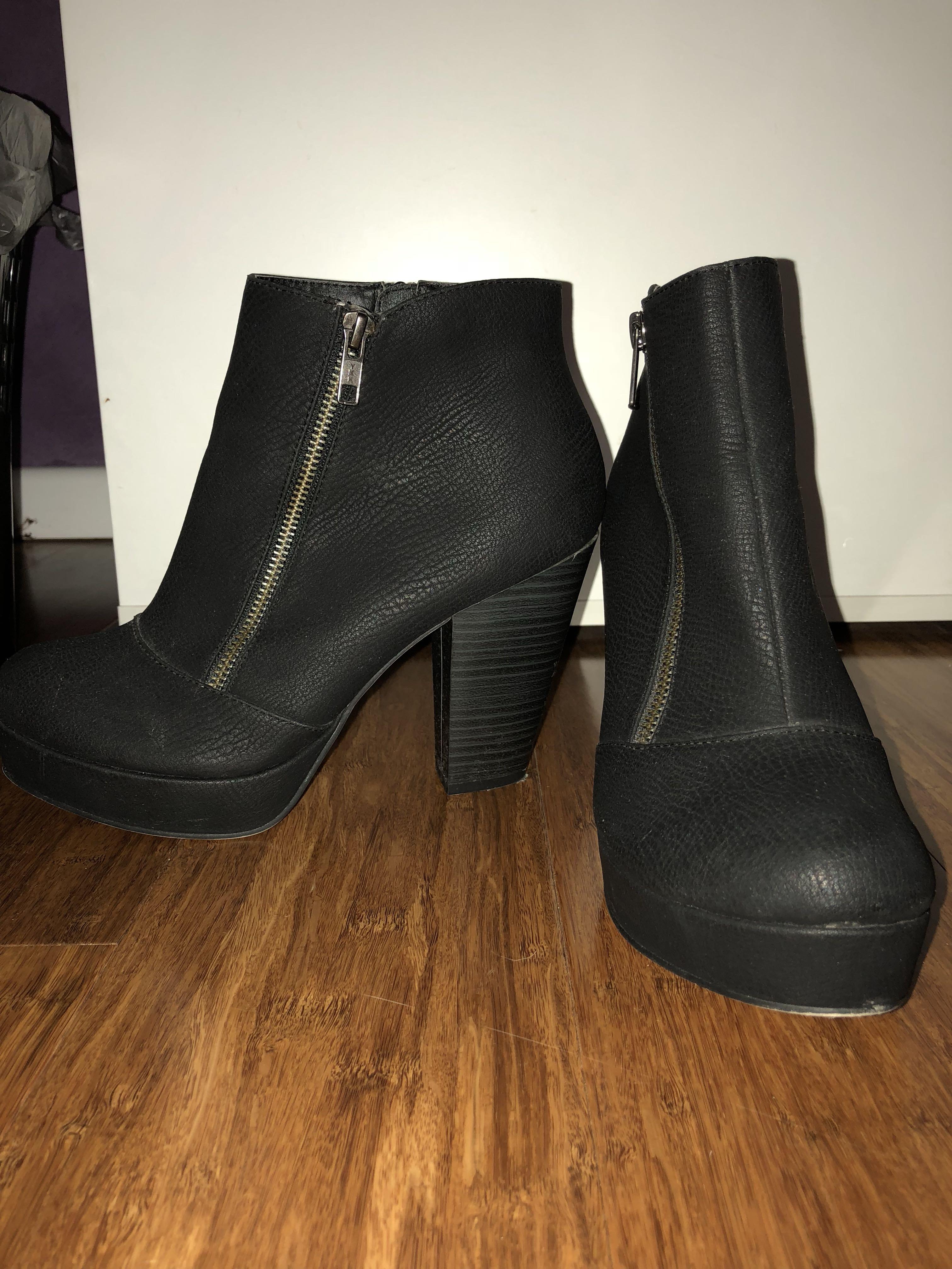 Betts heeled boots