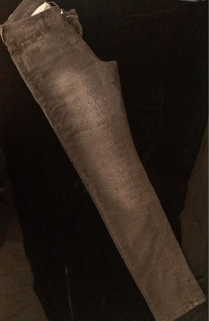 Black Jeans with a pattern
