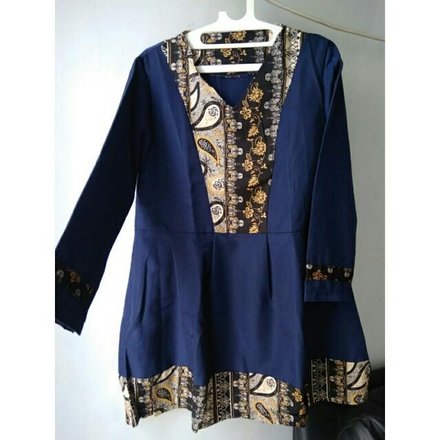 Blouse Flowy Batik fit to XL