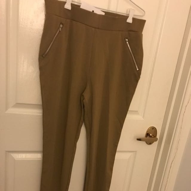 BNWT Cigarette Zip Pants 12