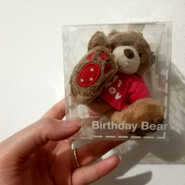 Boneka birthday bear