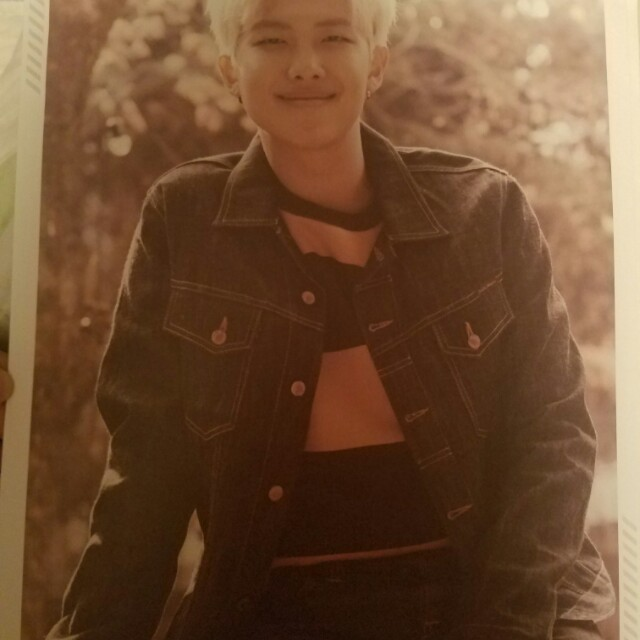 BTS 2nd Muster RM RapMonster poster