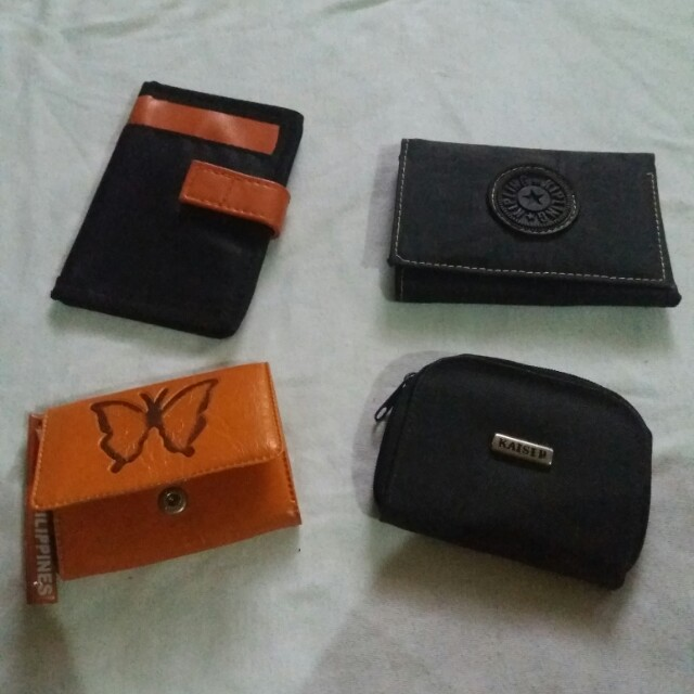 Bundle wallets and coinpurse