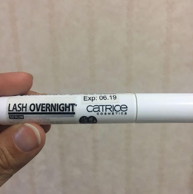 Catrice lash overnight. Serum penumbuh bulu mata