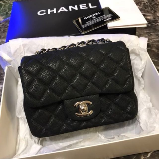 3494e6fe2bb5 Chanel Classic Mini Square flap bag, Luxury, Bags & Wallets on Carousell