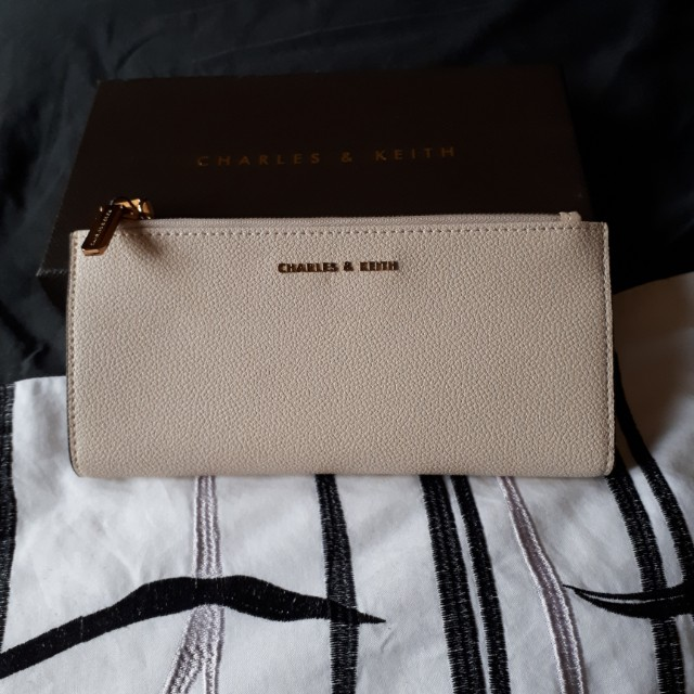 Charles & Keith double zipper wallet