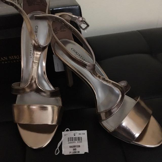 Christian Siriano Stilettos (Rose Gold)