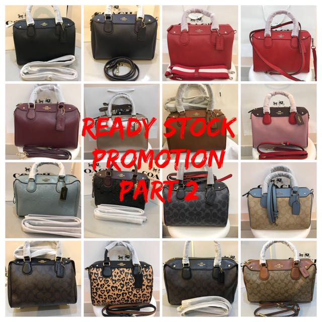 d9e5898c01bb COACH Handbag Series @ ALL READY STOCK!!!, Luxury, Bags & Wallets on  Carousell