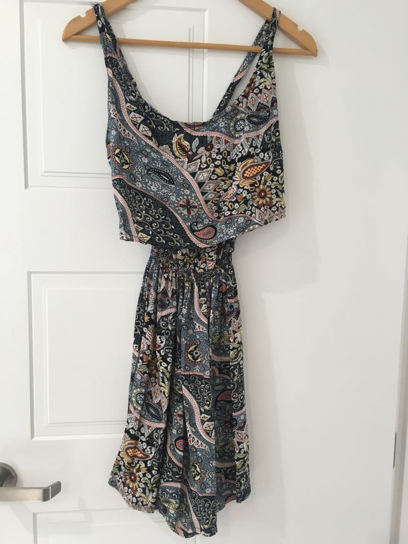 Comfy printed playsuit