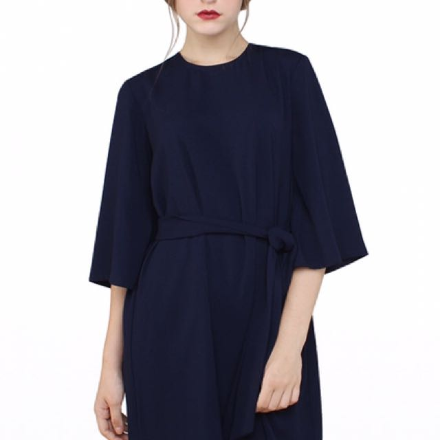 Cotton Ink x Raisa - Petra Dress Navy size S