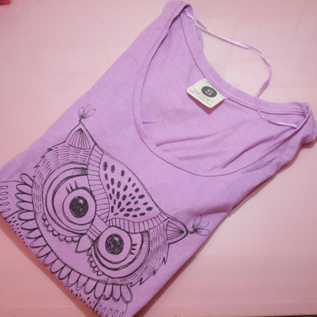 Cotton on owl shirt