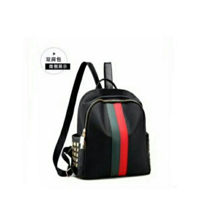 d73783673f Low MOQ Cute Korean Style Elegant Double Pockets Pu Leather School Backpack  Satchel Bag Knapsack For