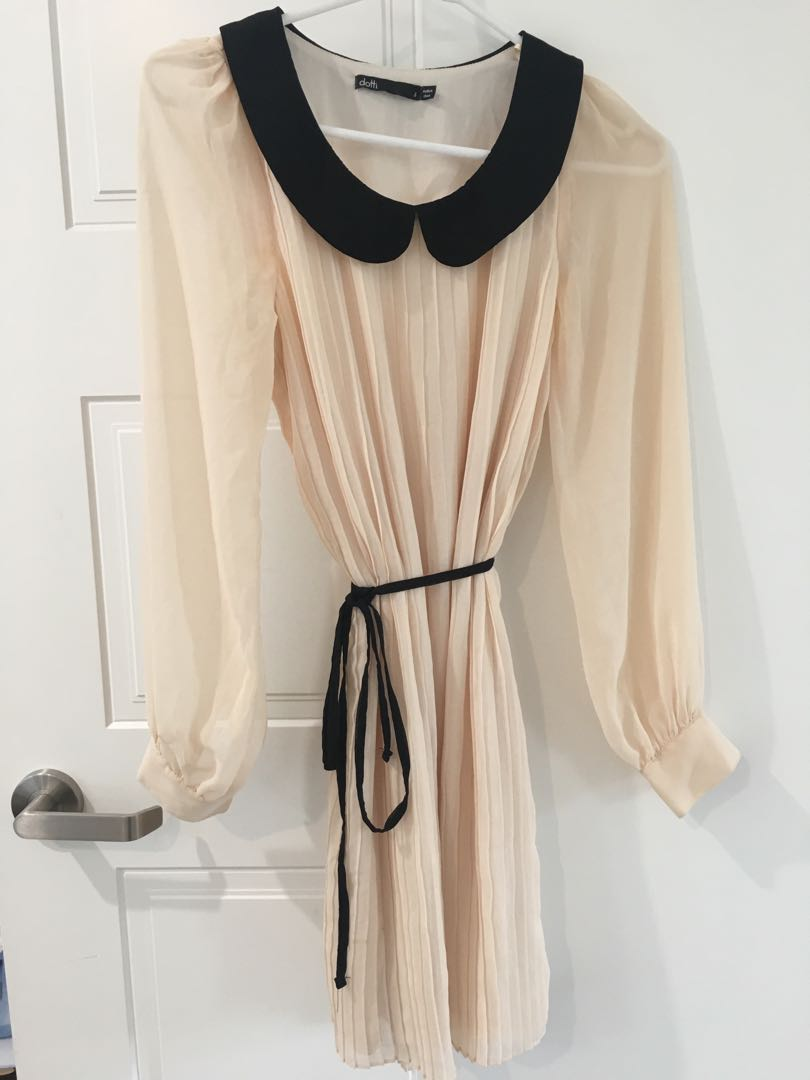 Cute Long sleeve Chiffon dress
