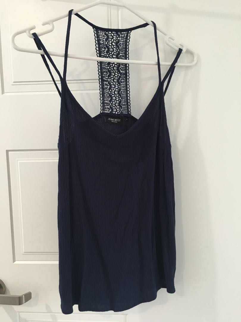 Cute Navy Camisole
