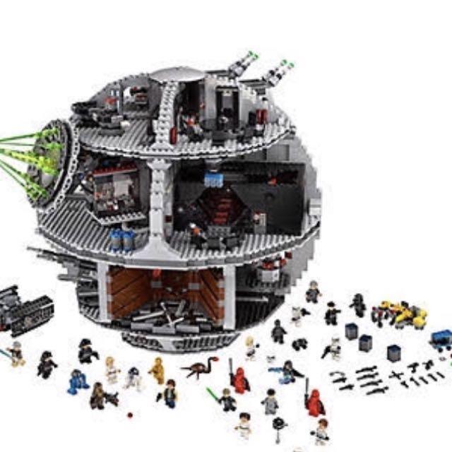 DARTH VADER DEATH STAR LEGO COMPATIBLE SET 10188