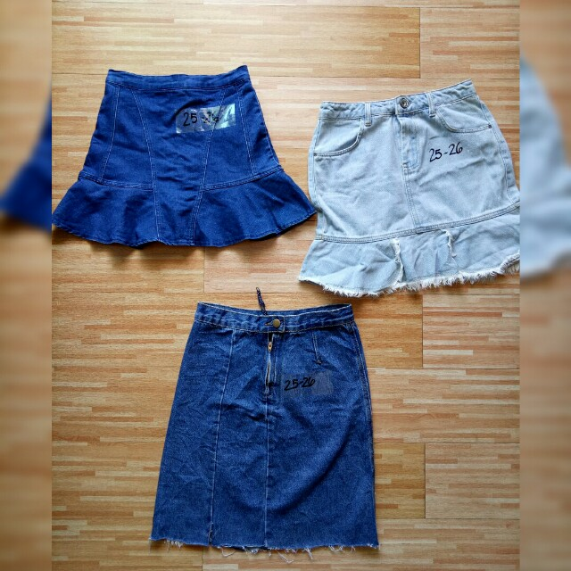 😍😍Denim Skirts 25-26