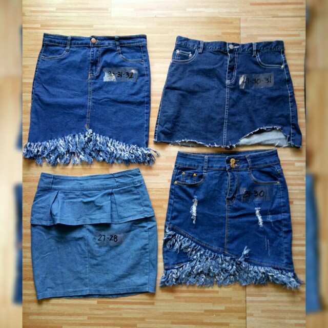 😘😍Denim Skirts 30-31-32