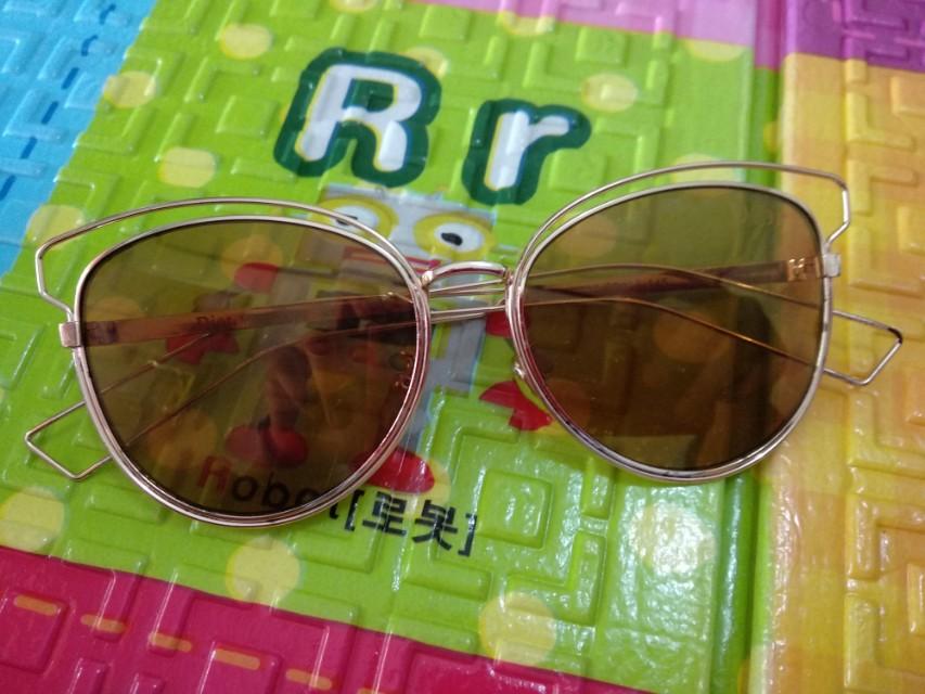 Dior Sideral Brown Gold Sunglass Sunglasses Kacamata Hitam