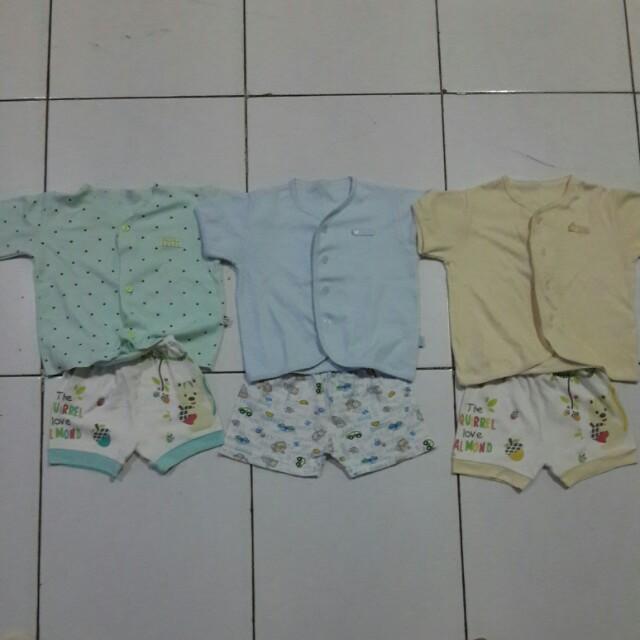 DISKON 3Pasang pakaian bayi