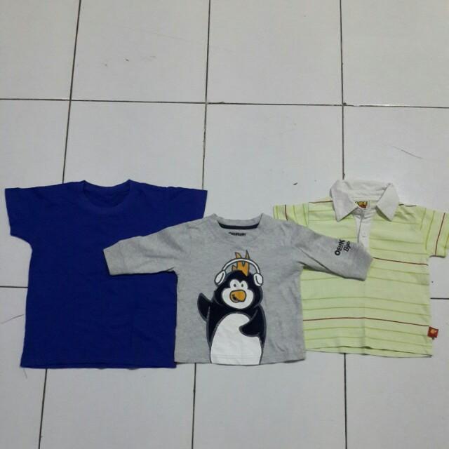 DISKON 3pcs baju anak 2-3th