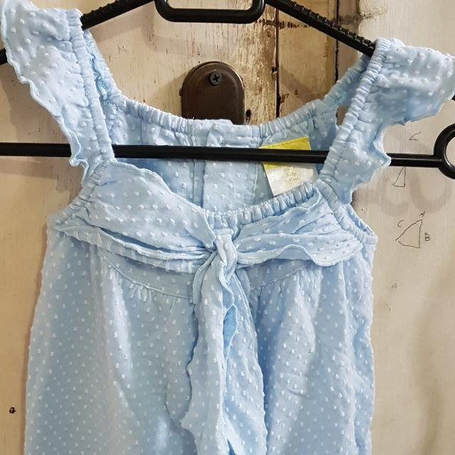 Eyka Romper Baby BLUE