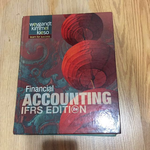 Financial Accounting IFRS 2nd Edition WILEY